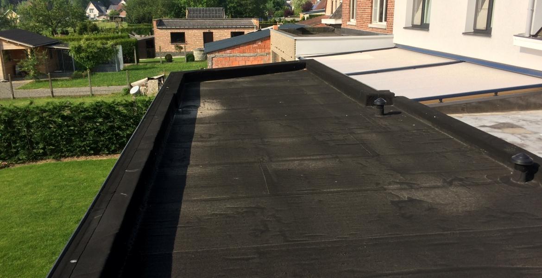 Frisch dak & timmerwerken roofing voor platte daken